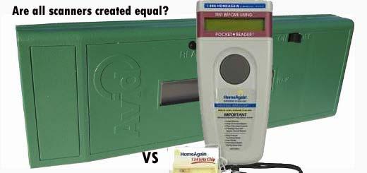 Microchip Scanners: AVID MiniTracker 3 vs HomeAgain WorldScan