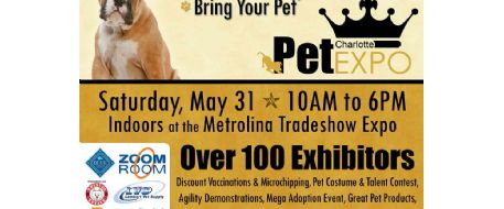 Stolen Horse International at Charlotte Pet Expo May 31st