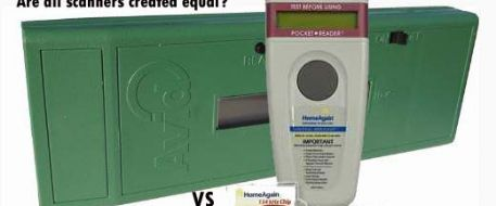 Microchip Scanners: AVID MiniTracker 3 vs HomeAgain WorldScan