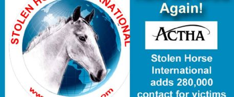 ACTHA Donates 280,000 deterrents to horse theft