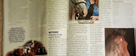 Longevity - Equus Magazine Features Stolen Horse International's Horse Idaho in February 2016 issue