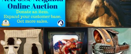 You and Stolen Horse International's NeighBid Online Auction