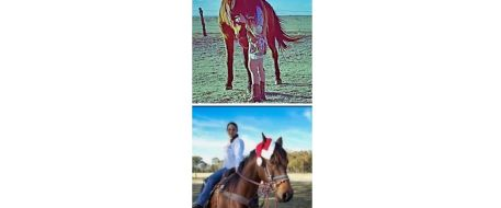Press Release- After 8 years, TX woman reunites with her missing horse