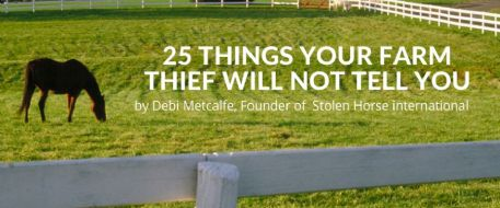 25 Things Your Farm Thief Will Not Tell You