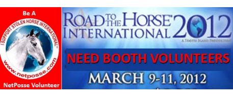 Road to the Horse Booth Volunteers Needed