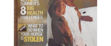 Guess who is in the Equus July 2013 issue?