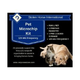 AVID 125 Khz Microchip Kit for Dog/Pet - with PetTrac Registration and NID