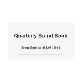 Alabama Quarterly Brand Book Information