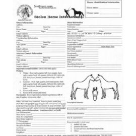 Horse ID Form