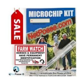 LIMITED TIME Protection Sale - Microchip Kit | FARM WATCH Security