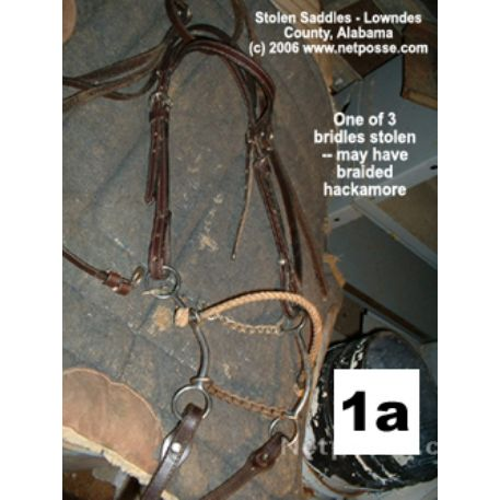 STOLEN Equipment - Bridles, Misc Tack