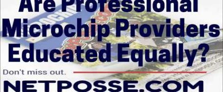 Are Professional Microchip Providers Educated Equally?